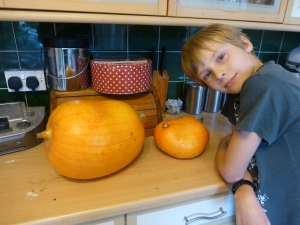 My 2 Pumpkins before....