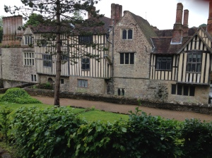 Ightham Mote. Very oldie worldie.