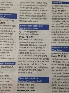 I've got a review in The Guardian...not my local one, but the national paper!!
