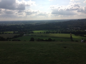 The view from the Boxhill View Point.