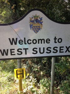 I had officially left Surrey.