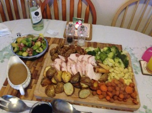 Anyone for Turkey and the trimmings, especially sprouts!!