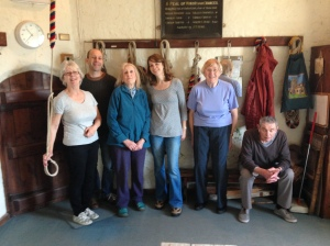 Our little band of ringers. I'm taking the photo...obviously!!