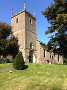 St Leonards, Marston Bigot. The view was fantastic!