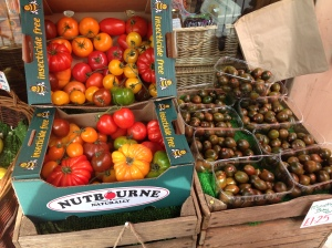A very impressive selection of Heritage Tomatoes.