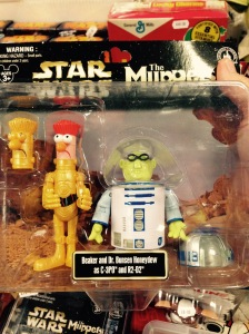 This did make me giggle. They also had Animal, Link Hogthrob and Scooter dressed as Boba Fett, Han Solo and Lando.