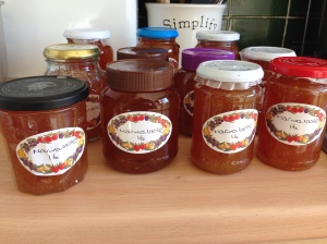 My 11 jars of loveliness.