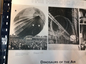 Dinosaurs of the Air, is quite right. Filling them with Hydrogen! What were they thinking?