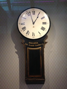 This was one of the clocks still working. Puts us to shame with all our digital ones these days.