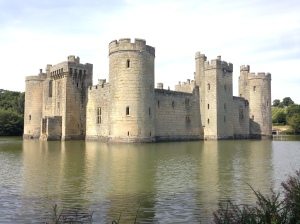 Bodiam Castle in all it's glory.