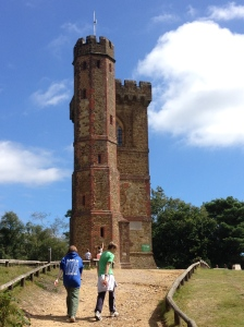 Leith Hill Tower. It may not look high, but it's the tallest point in the SE of England!